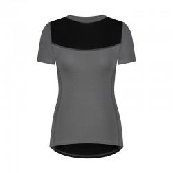 T-shirt damski z krótkim...